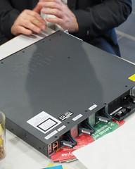 Forschungsgegenstand von A. Veichtlbauer - ein Cisco Switch