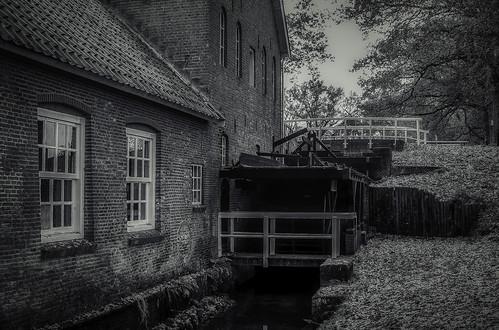 Water Mill Wenum Netherlands Series