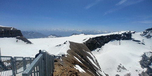 Switzerland June 2019 At Glacier 3000 Image 474