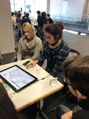Caroline Atzl & Laura Knoth, Research Studios Austria FG Research Studio iSPACE mit 4D Webkarte