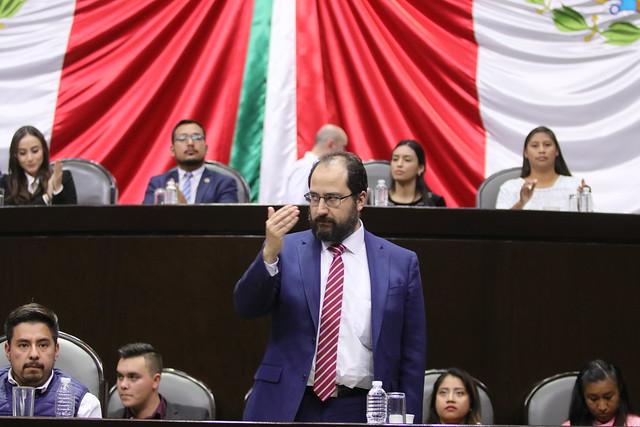 08/11/2019 Inauguración Parlamento Juvenil