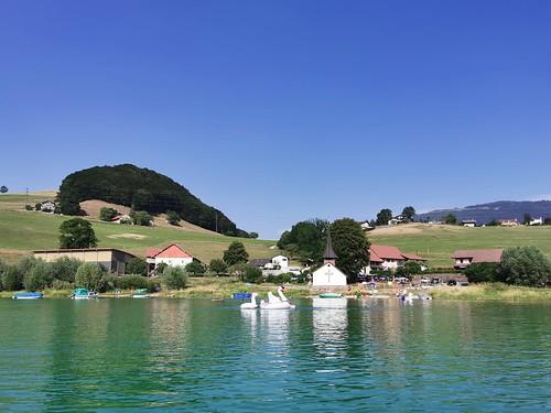 Ambiance estivale sur le lac