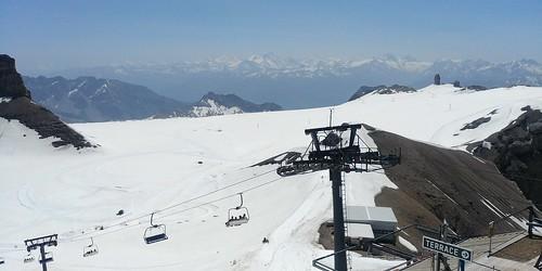 Switzerland June 2019 At Glacier 3000 Image 460