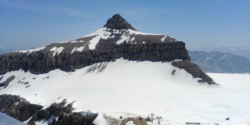 Switzerland June 2019 At Glacier 3000 Image 461