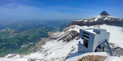 Switzerland June 2019 At Glacier 3000 Image 476