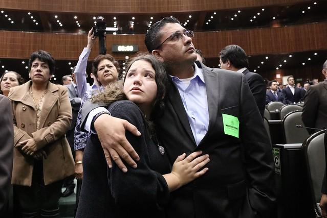 26/11/2019 Homenaje luctuoso de cuerpo presente al diputado federal Maximiliano Ruiz Arias, de Morena, en el Pleno de la Cámara de Diputados.