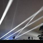 Flood lights by David Morris