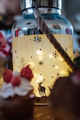 Deers on Christmas lamp