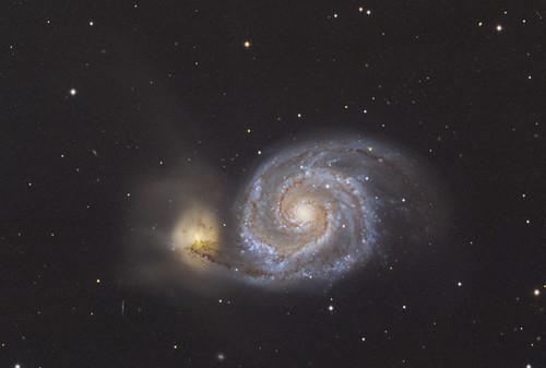 Reprocess of M51 spiral galaxy [Robotic, T7 Nerpio, ESP]