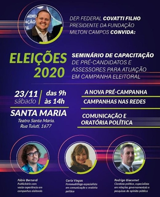 23/11/2019  Evento Jovens Progressistas Santa Maria