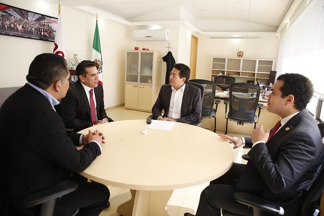 27/11/2018 Reunión de Trabajo con el Gobernador de Campeche