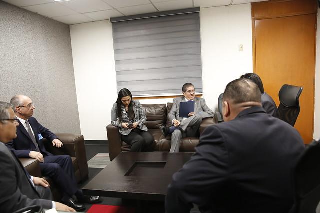 27/11/2018 Reunión con el Gobernador de Colima