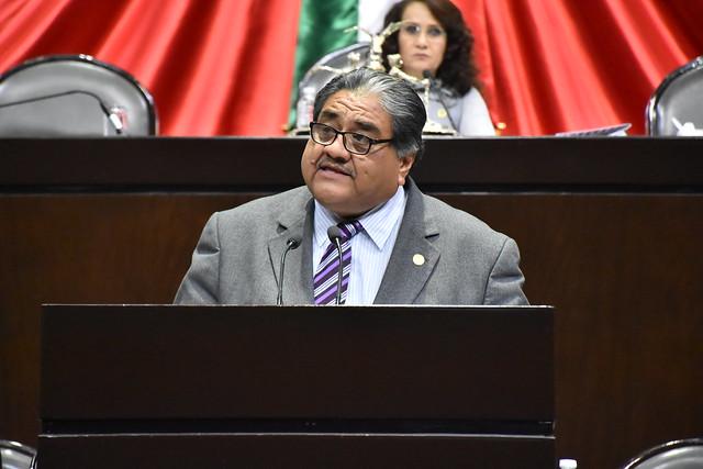 27/11/2018 Tribuna Dip. Francisco Javier Borrego Adame