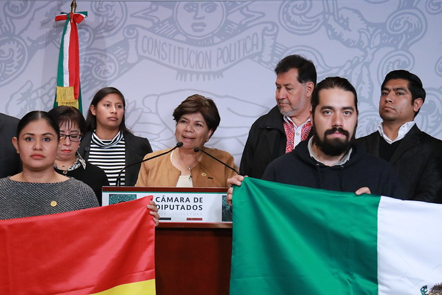 26/11/2019 Conferencia de Prensa Grupo de Amistad México-Bolivia