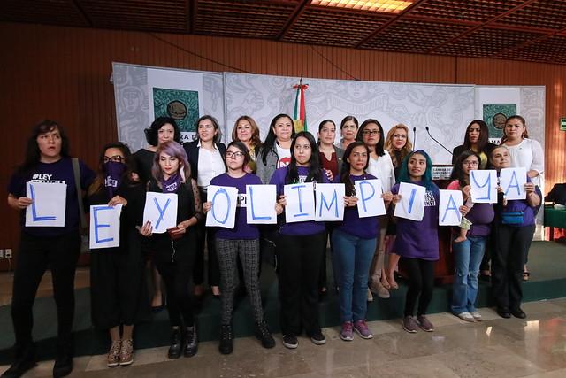 26/11/2019 Conferencia de Prensa Diputada Wendy Briseño