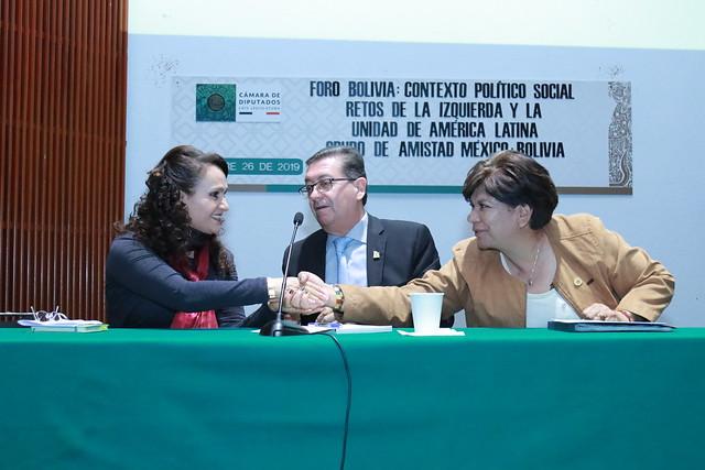 26/11/2019 Foro Contexto Político Social. Restos de la Izquierda y la Unidad de América Latina