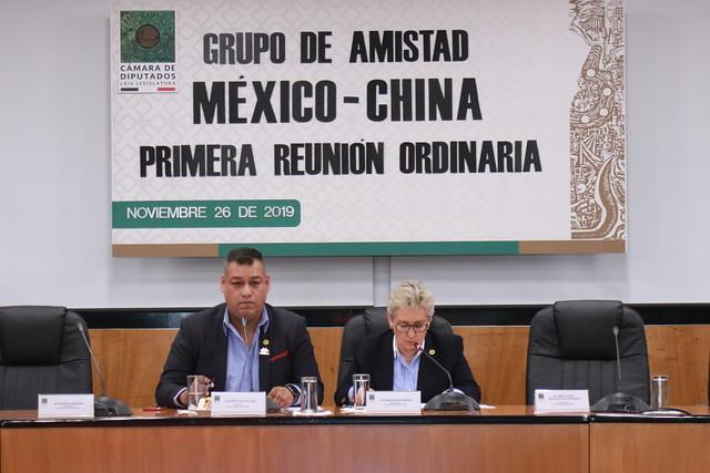 26/11/2019 Primera Reunión Ordinaria Grupo de Amistad México-China