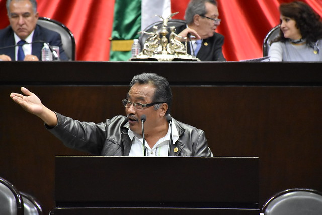 27/11/2018 Tribuna Dip. Delfino López Aparicio