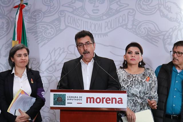 26/11/2019 Conferencia de Prensa Diputados del Estado de Sonora