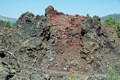 Spatter cone atop Bonito Lava Flow (upper Holocene; near Sunset Crater, San Francisco Volcanic Field, Arizona, USA) 2