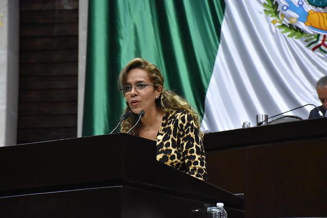 27/11/2018 Tribuna de la Dip. Paola Tenorio Adame