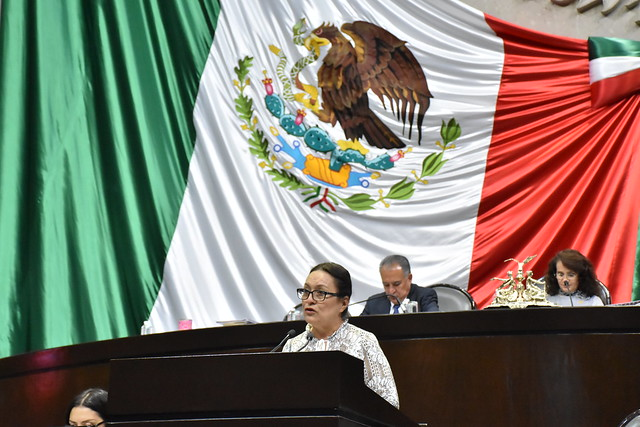 27/11/2018 Tribuna Dip. María Bertha Espinoza Segura