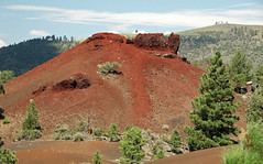 Rafted welded pyroclast mound from the Sunset Crater cinder cone (Bonito Lava Flow, upper Holocene; San Francisco Volcanic Field, Arizona, USA) 1