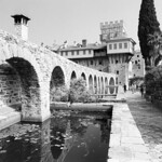 Athos Aqueduct (In Explore -  FM3A / Tri-X)