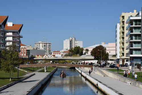 Canal en Aveiro (Portugal, 22-10-2019)
