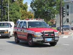 Cambridge Fire Department Chevy Tahoe