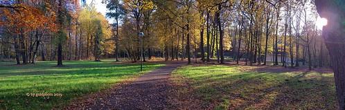 Kurpark Bad Lausick - Panorama 5 (November 2019)