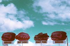 Burgers, Hot Dogs, Roast Pork, Burgers