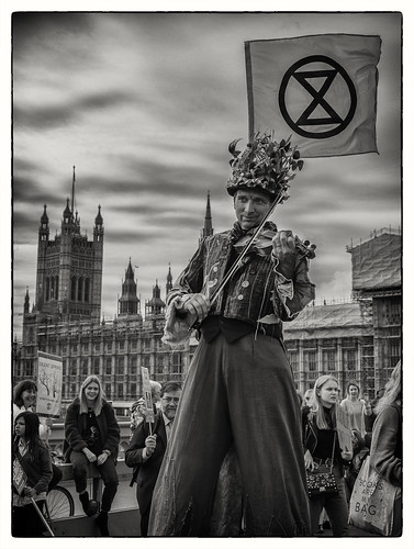 Extinction Rebellion - Westminster, London 2019