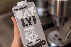 Oatly Hafermilch in der Barista Edition für den perfekten Kaffeegenuss