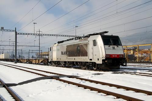 Railcare 186 109-5 Black Pearl,  Härkingen