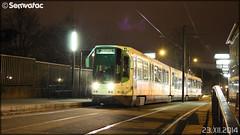 Alsthom TFS (Tramway Français Standard) – Semitan (Société d'Économie MIxte des Transports en commun de l'Agglomération Nantaise) / TAN (Transports en commun de l'Agglomération Nantaise) n°330