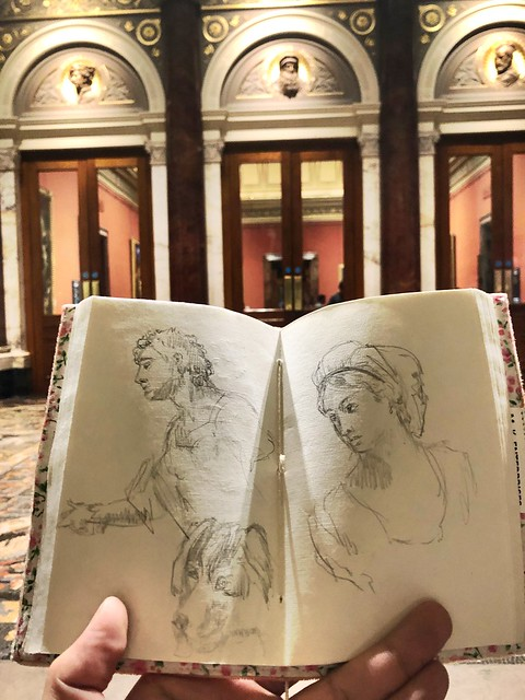 Drawings at the National Gallery