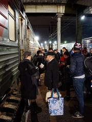 Russia, Tyumen - Midnight ticket check - September 2018