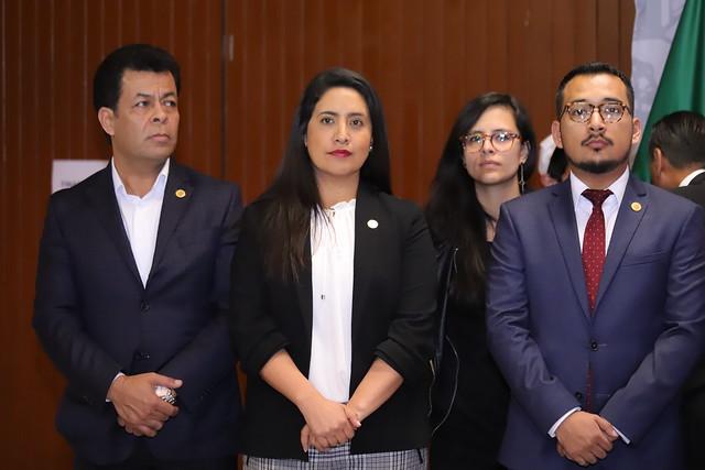28/11/2018 Conferencia de Prensa Dip. Reyna Celeste Ascencio Ortega