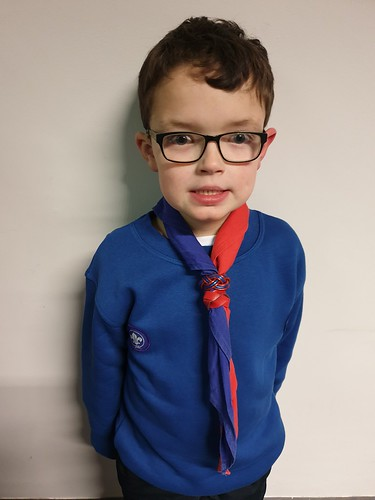 First Day in Scout Uniform