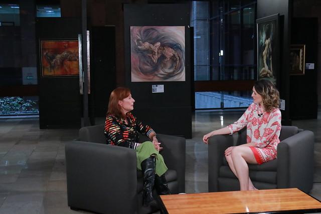 27/11/2019 Grabación De Programa Dip Tatiana Clouthier Para Canal Del Congreso