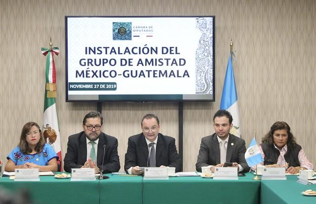 26/11/2019 Grupo De Amistad México-Guatemala