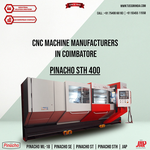 CNC Machine Manufacturers in Coimbatore