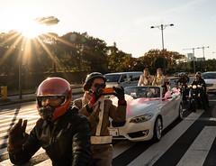 Wedding Parade through Tokyo