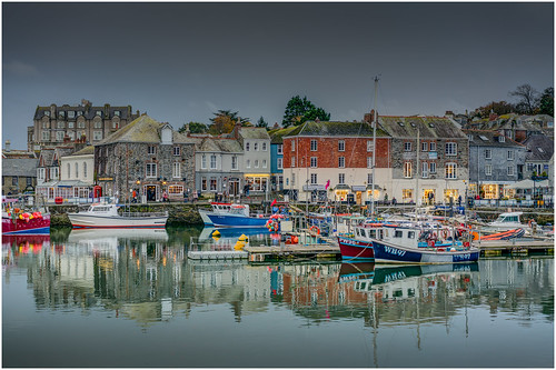 Harbour Lights - Padstow, Cornwall.