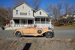 1931 Packard at Delaplane, VA Post Office