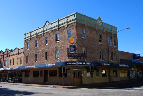 Grand Central Hotel, Lithgow, NSW.