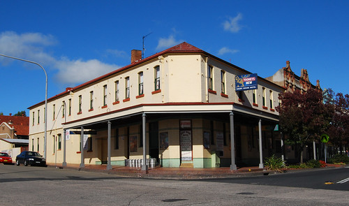 Courthouse Hotel, Lithgow, NSW.