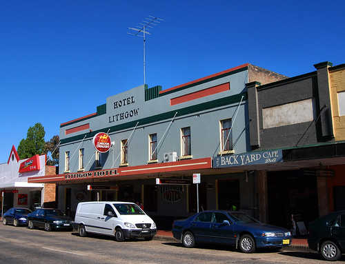 Lithgow Hotel, Lithgow, NSW.