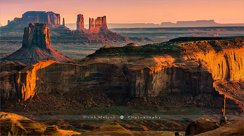 Hunts Mesa - Monument Valley